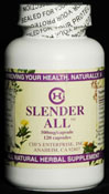 Slender All - Natural Herbal Weight Loss