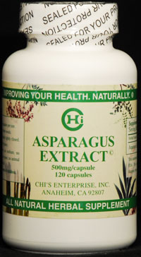 Asparagus Extract Bottle