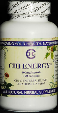 Chi Energy-Natural Herbal remedy for lung and adrenals