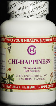 Chi Happiness - Natural Herbal Remedy for Depression
