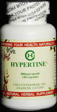 Hypertine for high blood pressure