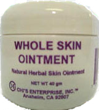Whole Skin Ointment for Skin Conditions