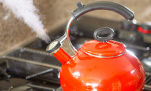 Steam to reduce chance of cold